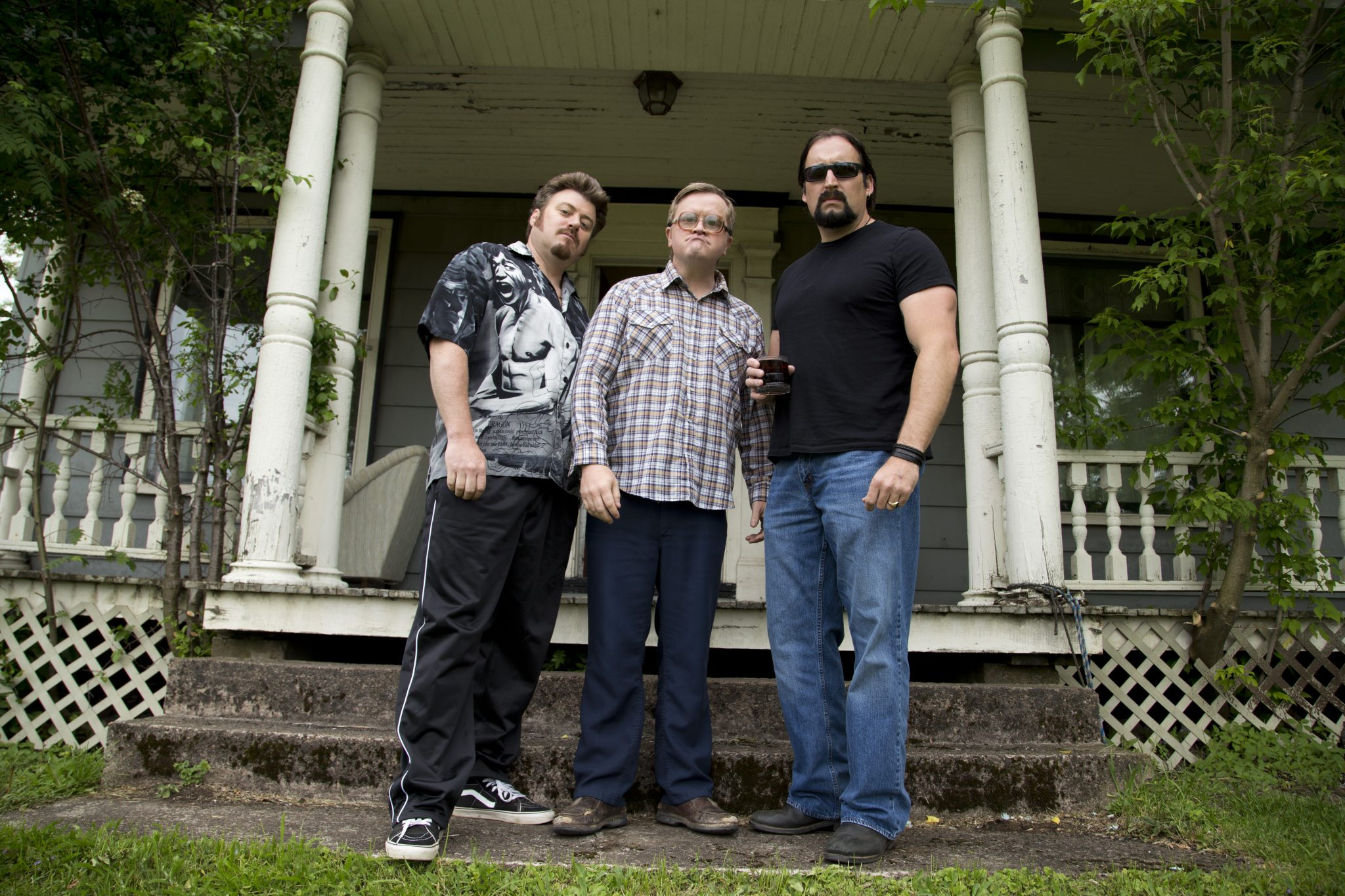 The cast of Trailer Park Boys