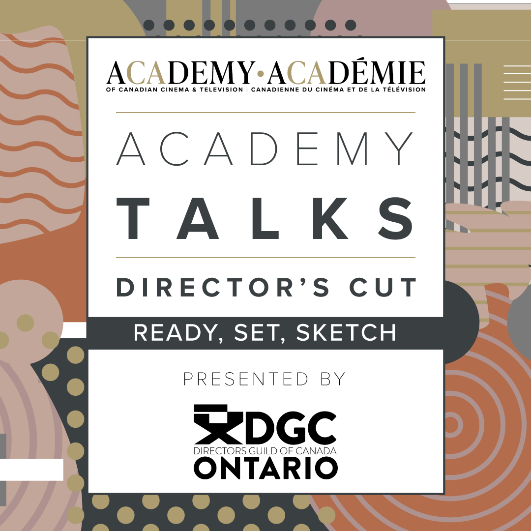 Academy Talks: Director's Cut | Ready, Set, Sketch