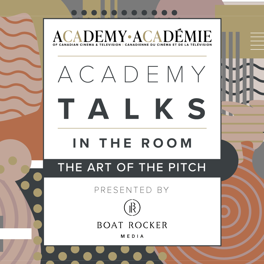 Academy Talks: In the Room | The Art of the Pitch