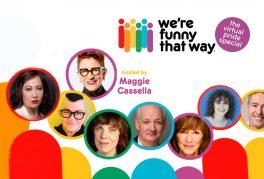 Maggie Cassella, Kate Rigg, Carolyn Taylor, Gavin Crawford, Lea DeLaria, Colin Mochrie, Kinley Mochrie, Deb McGrath