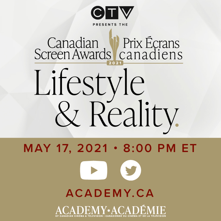 CTV presents the Canadian Screen Awards - Lifestyle & Reality