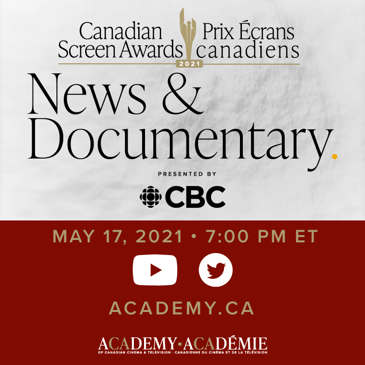Canadian Screen Awards - News & Documentary, Presented by CBC