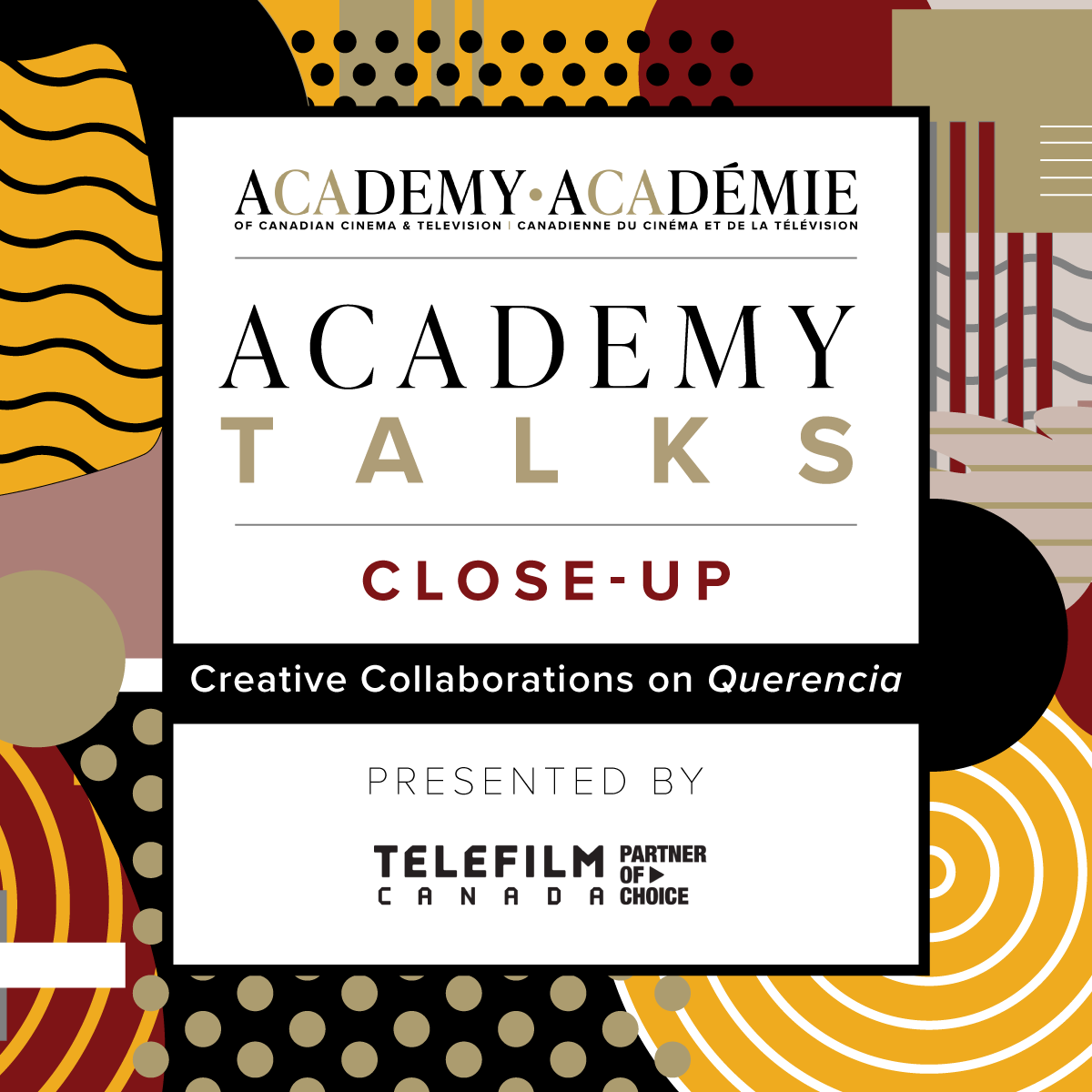 Academy Talks: Close-Up | Creative Collaborations on Querencia