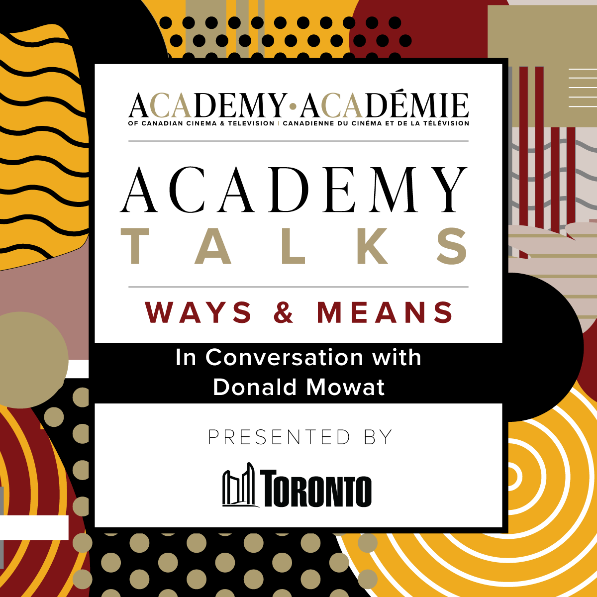 Academy Talks: Ways & Means | In Conversation with Donald Mowat