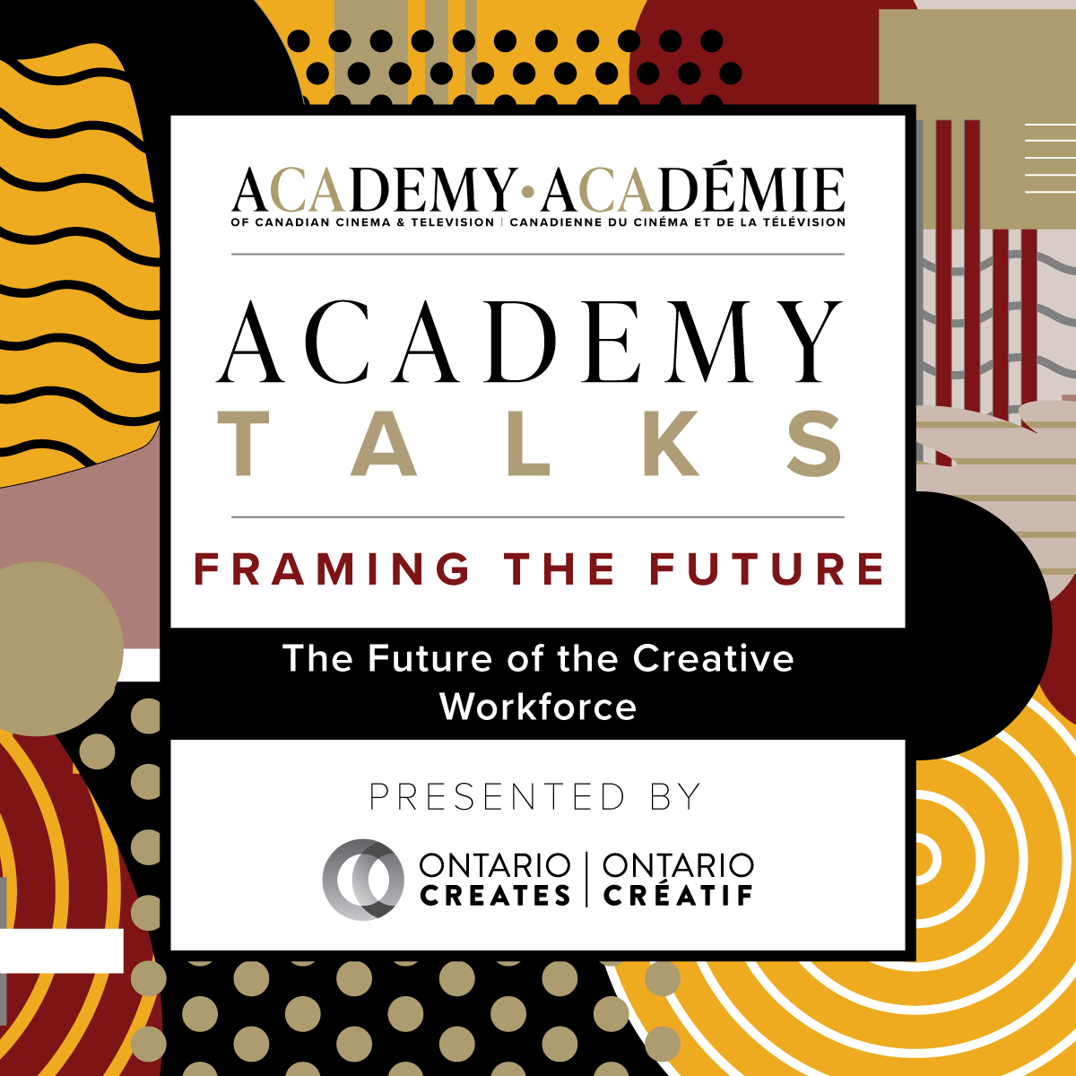 Academy Talks: Framing the Future | The Future of the Creative Workforce